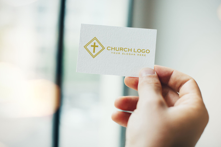 mockup of free church logo