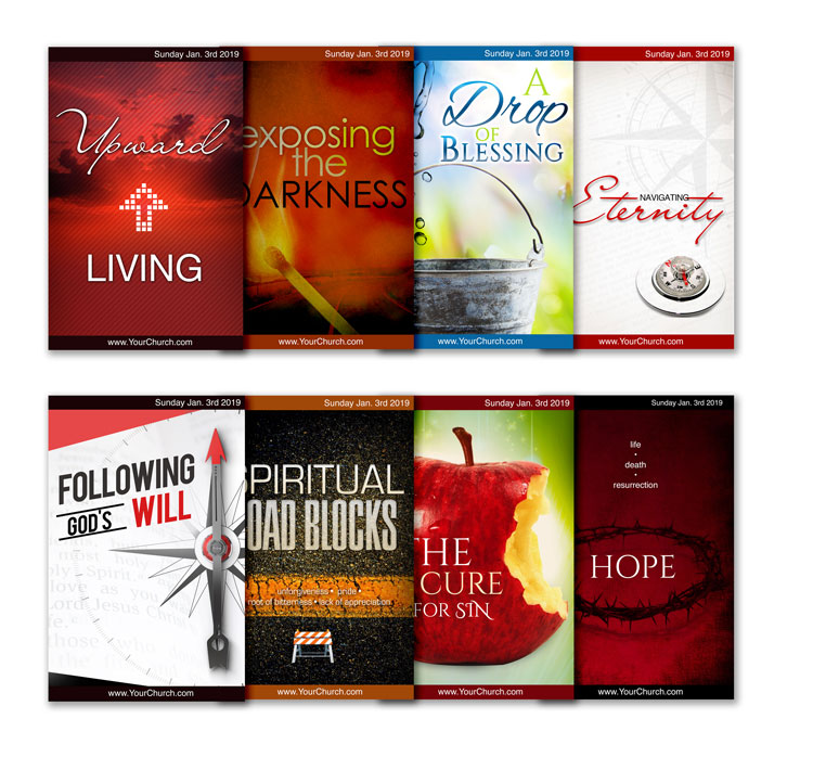 free church bulletin templates 8 professionally designed bulletins