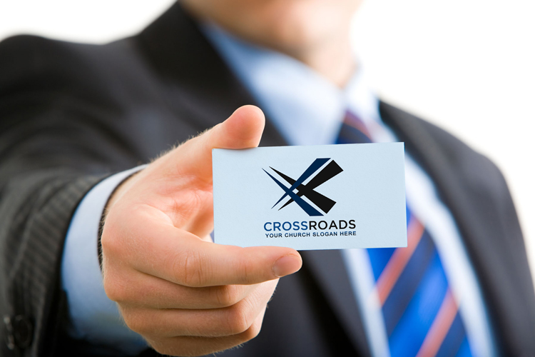 Free church logo - crossroads theme