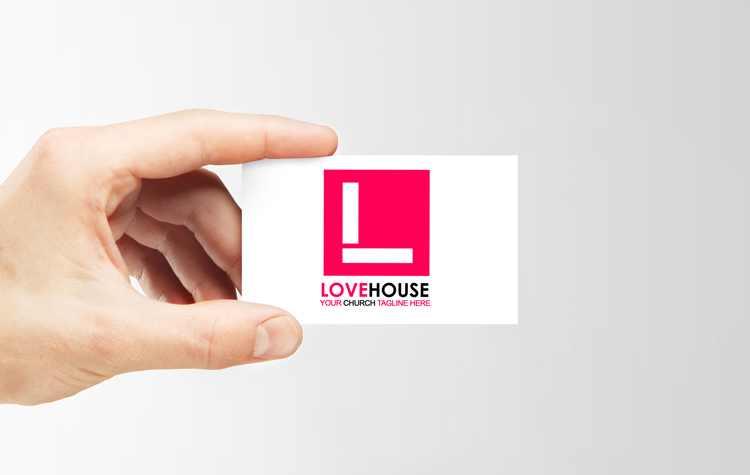 Free church logo - Love House theme