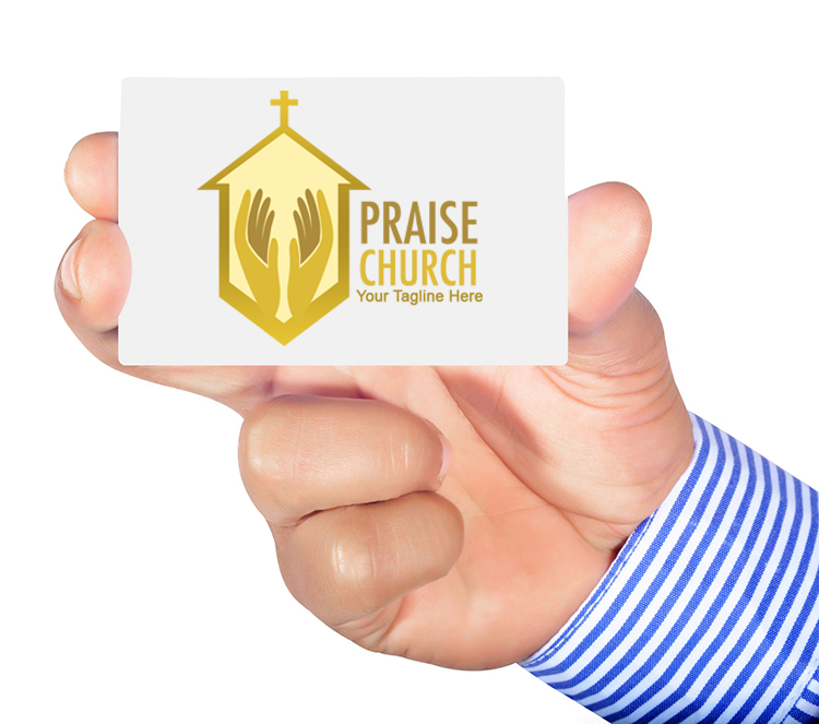 Free church logo - Praise Church theme