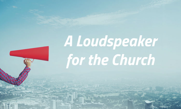 loudspeaker image for ministryvoice about page