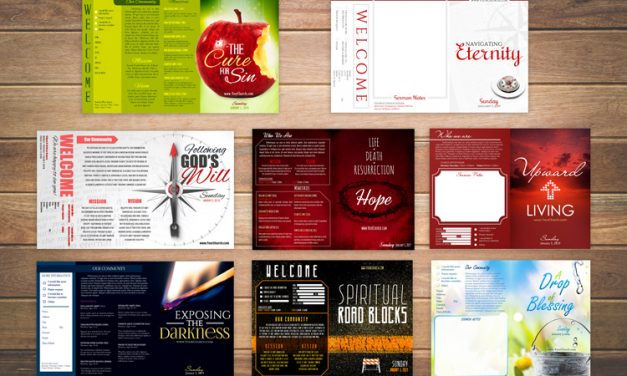 Free Church Bulletin Templates – 8 Professionally-Designed Bulletins