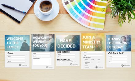 5 Free Church Connection Cards – Beautiful PSD Templates