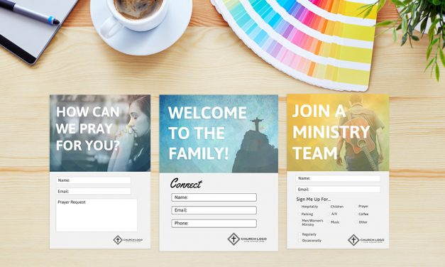 Free Church Connection Card Templates