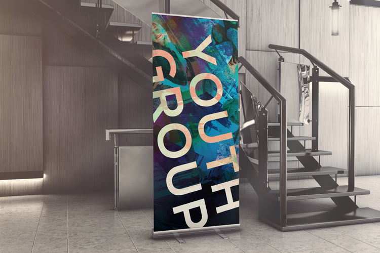 Free Church Banner #3: Youth Group