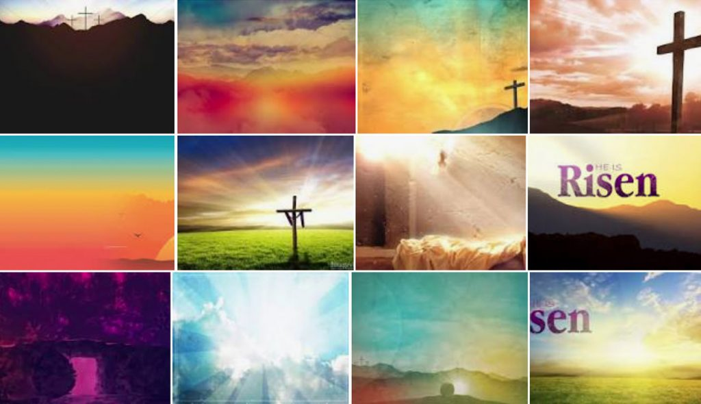 Easter Worship Backgrounds