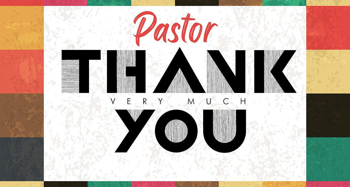 Pastor Appreciation Day Celebration Ideas
