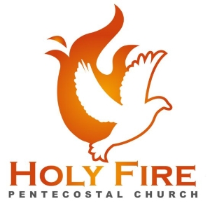 Church logo with fire