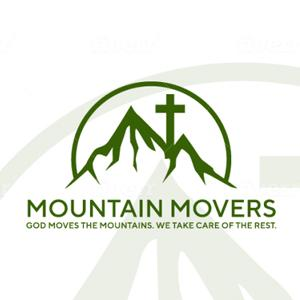 Logo with mountains and hills